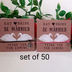 Custom Wedding Favours, Wedding Party Favors, Wedding Wishes, Personalized Wedding, Our Wedding, Personalized Bracelets, Autumn Wedding, Spring Wedding, Wish Bracelets