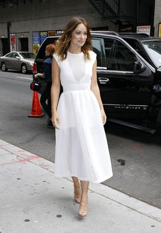 Theyskens Theory dress and Christian Louboutin shoes