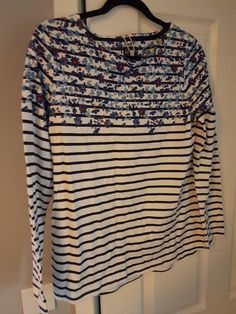 UK 8-22 Women Vintage V Neck Bell Ruffled Sleeve Casual Tops Shirt Blouse Plus