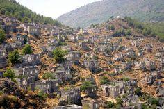 #Kayakoy Ghost Town - Village in #Turkey