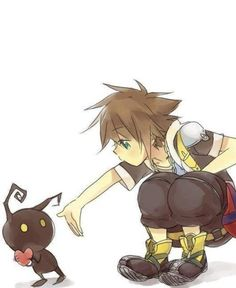 "Sora: ""Heartless so you wish me to get out my keyblade?"" Sora:"" Then give me the heart back!"" O kingdom hearts how i love you Kingdom Hearts 3, Kingdom Hearts Heartless, Kingdom Hearts Tattoo, Video Minecraft, Art Manga, Manga Girl, Anime Girls, Pokemon, Elfa"