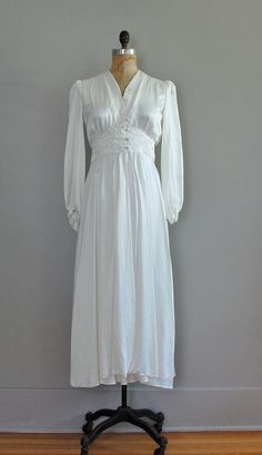 This is a vintage nightgown! SWOON