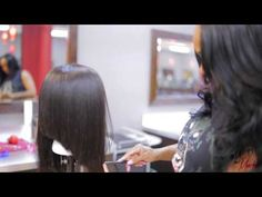 Wig and Hair Cut Tutorial by @MadAboutMeechie - YouTube