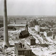 Berliner Zentrum in den 60ern - im Vordergrund das Panorama-Haus