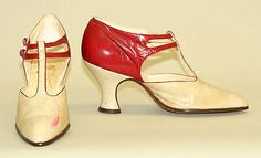 Shoes  F. Pinet, Paris (French, founded 1855)  Date: ca. 1920s Culture: French Medium: leather