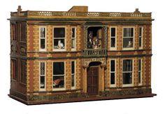 "Lot:261: The ""Hope Villa"" Dolls House, Lot Number:261, Starting Bid:$25000, Auctioneer:Noel Barrett, Auction:261: The ""Hope Villa"" Dolls House, Date:03:00 AM PT - Sep 30th, 2006"