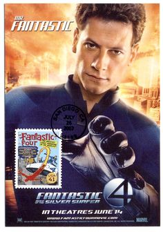 Fantastic Four 2007 USA Maximum Card Limited Edition Stamp