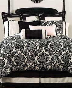 WANT: damask bedding