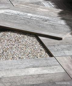 terrastegel keramisch hout
