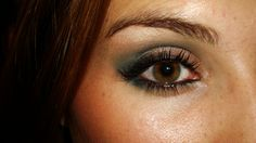 Another look with Urban Decay's Deep End.
