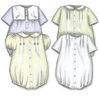 Sailor Bubble pattern Creations by Michie' Baby Girl Patterns, Childrens Sewing Patterns, Dress Sewing Patterns, Vintage Sewing Patterns, Clothes Patterns, Sewing Kids Clothes, Sewing For Kids, Baby Sewing, Baptism Outfit