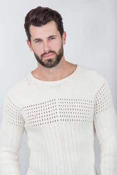 Doug Eyelet Sweater