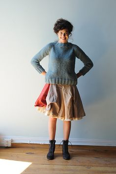 Ravelry: Agnes pattern by Melissa LaBarre  next time i decide to commit to making a sweater