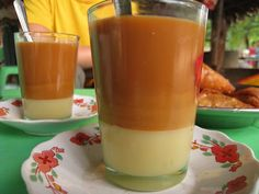 burmese tea - two parts tea and one part condensed milk
