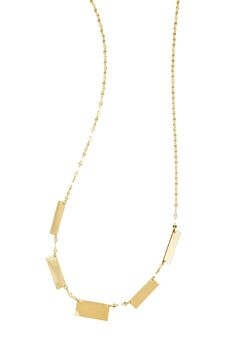 New Lana Jewelry Geo Bar Collar Necklace,Rose Gold fashion online. [$497.98]newoffershop win<<