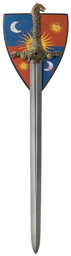 Ice, Sword of Eddard Stark Damascus. Zack Kran's replica ...