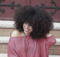 I love natural hair.. I love the fact that you can do just about any style with it.. Short, kinky, curly, waves, straight, afro.etc etc.. That is why I will NOT perm my hair....