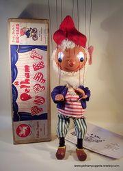 SHOP Enid Blyton Characters - The Vintage Pelham Puppet Shop £180