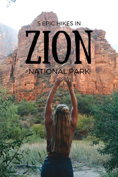 Best Hikes in Zion National Park! – Banana Pancakes Travel #zion #hiking