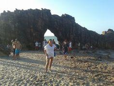 Praia da Pedra Furada em Jericoacoara, CE - jan 2015