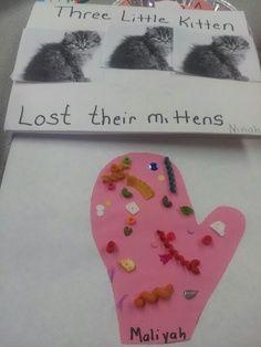 Three Little Kittens Nursery Rhyme | Three little kittens lost theirs mittens activity