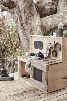 Castle and Cubby X CATGK Mud Kitchen - made in Melbourne, Australia