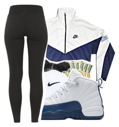 """@mindset-on-mindless "" by mindset-on-mindless ❤ liked on Polyvore featuring NIKE"