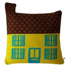 Coussin maison - Donna Wilson