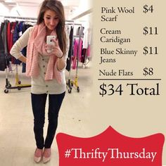 Super cute outfit from The Salvation Army Family Store! #thriftythursday