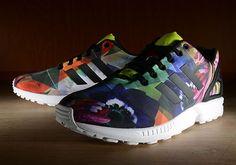 #adidas Originals ZX Flux Floral #sneakers