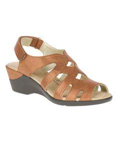 Tan Cambric Patsie Sandal