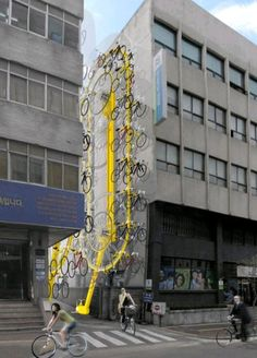 Vertical bicycle storage(via blueallez-deactivated20120610)