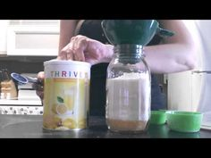 5 Days of Jar Meals Day 5: Cornmeal Cookies - YouTube