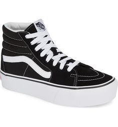 d52a0fda66 Free shipping and returns on Vans Sk8-Hi Platform Sneaker (Women) at  Nordstrom