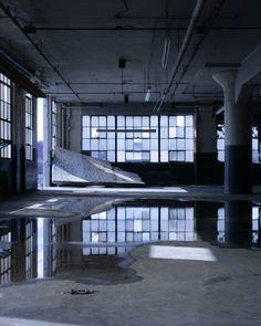 inside the abandoned Crosley factory by Zach Fein