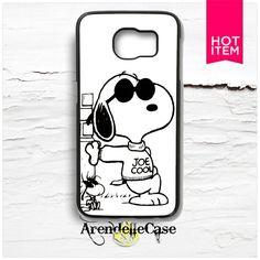 Snoopy Joe Cool Samsung Galaxy S6 Edge Case