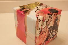 DIY Magazine Gift Wrap