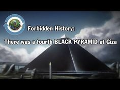 There was a fourth BLACK PYRAMID at Giza - YouTube