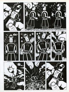 Una piccola storia firmata Burns per il supplemento a fumetti su The Face, poi ripreso da Frigidaire, in supporto dei minatori inglesi contro la Tatcher.