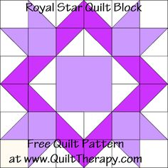 Royal Star Quilt Blo
