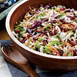 Cranberry-Almond Coleslaw...hope this is like opies