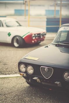 Alfa Romeo Giulia Berlina and GT