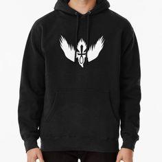 Drowning Doom Logo - White Hoodie (Pullover)