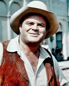 """Dan Blocker, actor (""""Hoss"""" Bonanza), born in DeKalb, TX"""