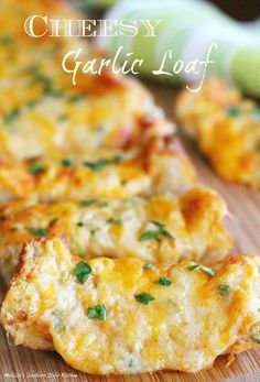Cheesy Garlic Loaf
