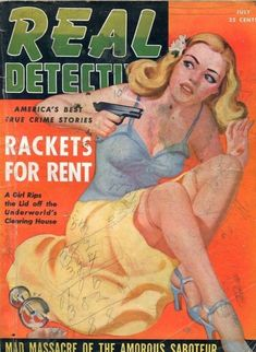 July 1942 issue cover art by Sam Cherry