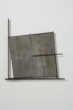 Giuseppe Uncini Spazicemento N.° 35, 1995, Cemento e ferro