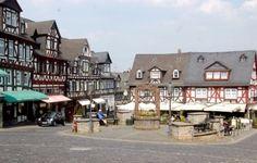 Braunfels Germany - market platz