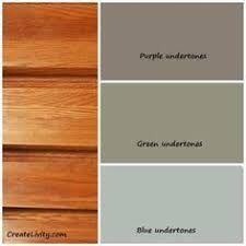 Interior colour schemes with natural pine trim