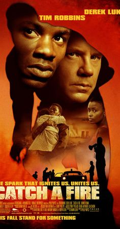 Catch a Fire Directed by Phillip Noyce. With Derek Luke, Tim Robbins, Bonnie Henna, Mncedisi Shabangu. A drama about terrorism in Apartheid-era South Africa, revolving around a policeman and a young man who carries out solo attacks against the regime. Derek Luke, All Movies, Action Movies, Movies To Watch, Movies Online, Tim Robbins, Fire Movie, Freedom Fighters, Movie Trailers